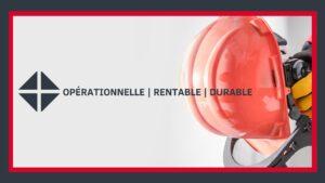 opérationnel, rentable et durable